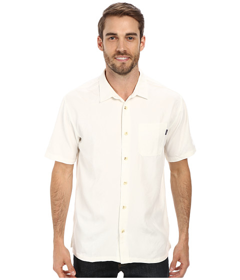 Jack O'Neill - Palma Wovens (Natural) Men's Short Sleeve Button Up
