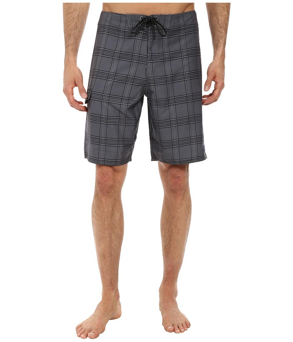 Jack O'Neill - Coastline Boardshorts (Charcoal) Men's Swimwear