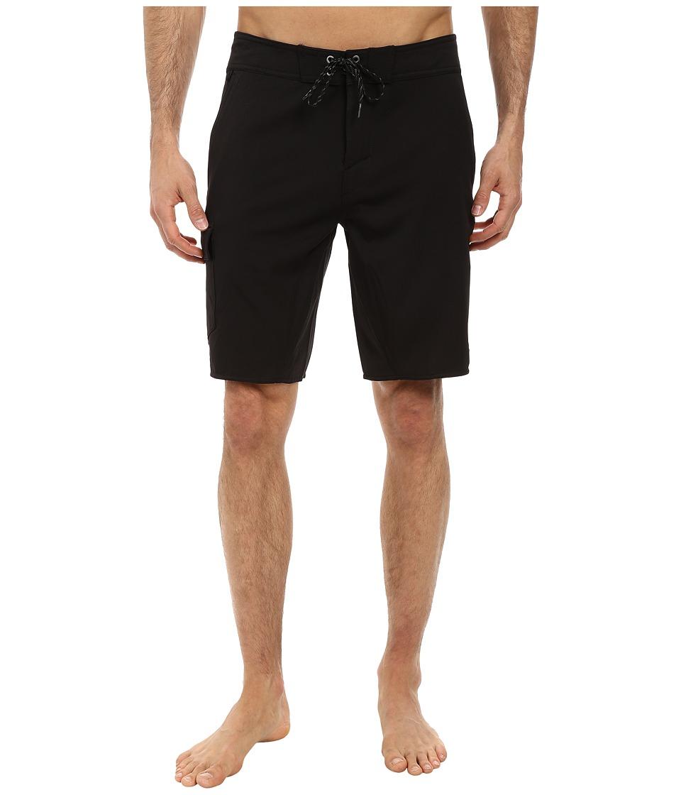 Jack O'Neill - Flatwater Boardshorts (Black) Men's Swimwear