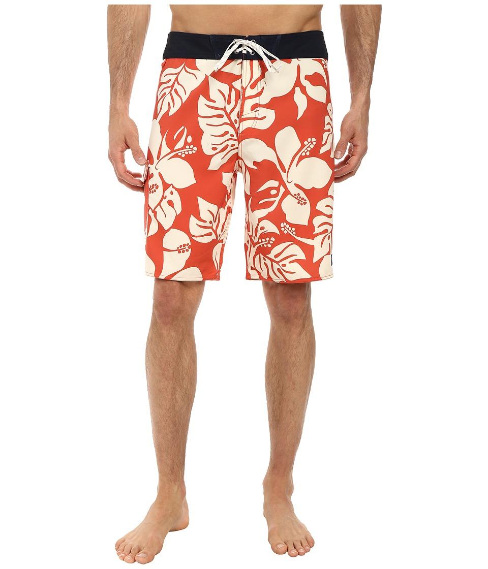 Jack O'Neill - Shakas Boardshorts (Orange) Men's Swimwear