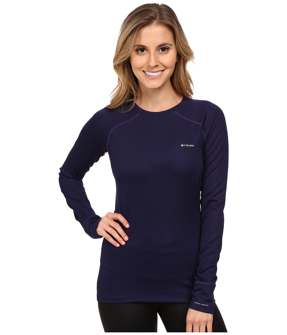 Columbia - Heavyweight II Long Sleeve Top (Inkling/Hyper Purple) Women's Long Sleeve Pullover