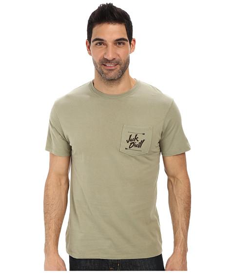 Jack O'Neill - Paradise Short Sleeve Screen Tee (Aloe) Men's Short Sleeve Pullover