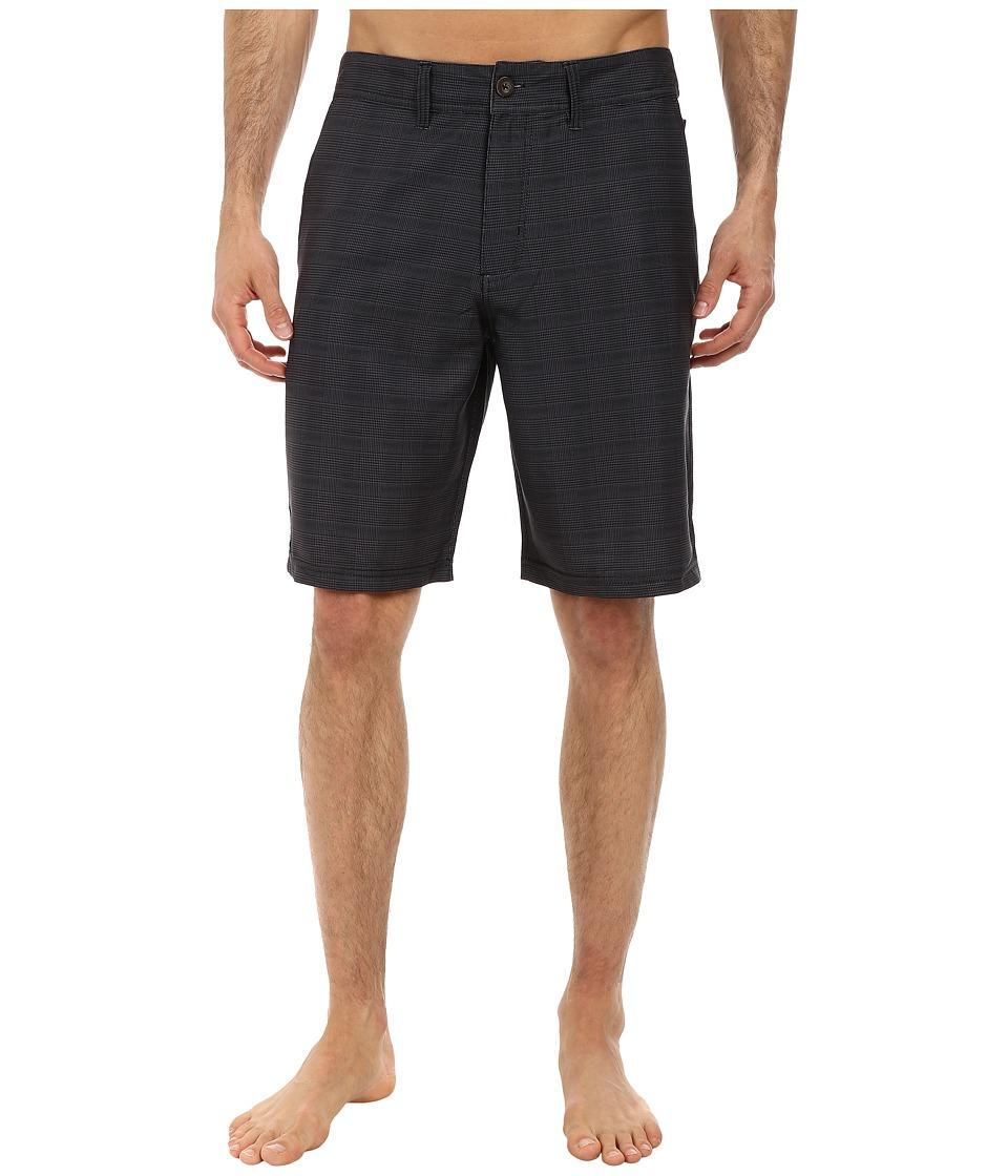 Jack O'Neill - Spencer Solid Boardshorts (Black) Men's Shorts