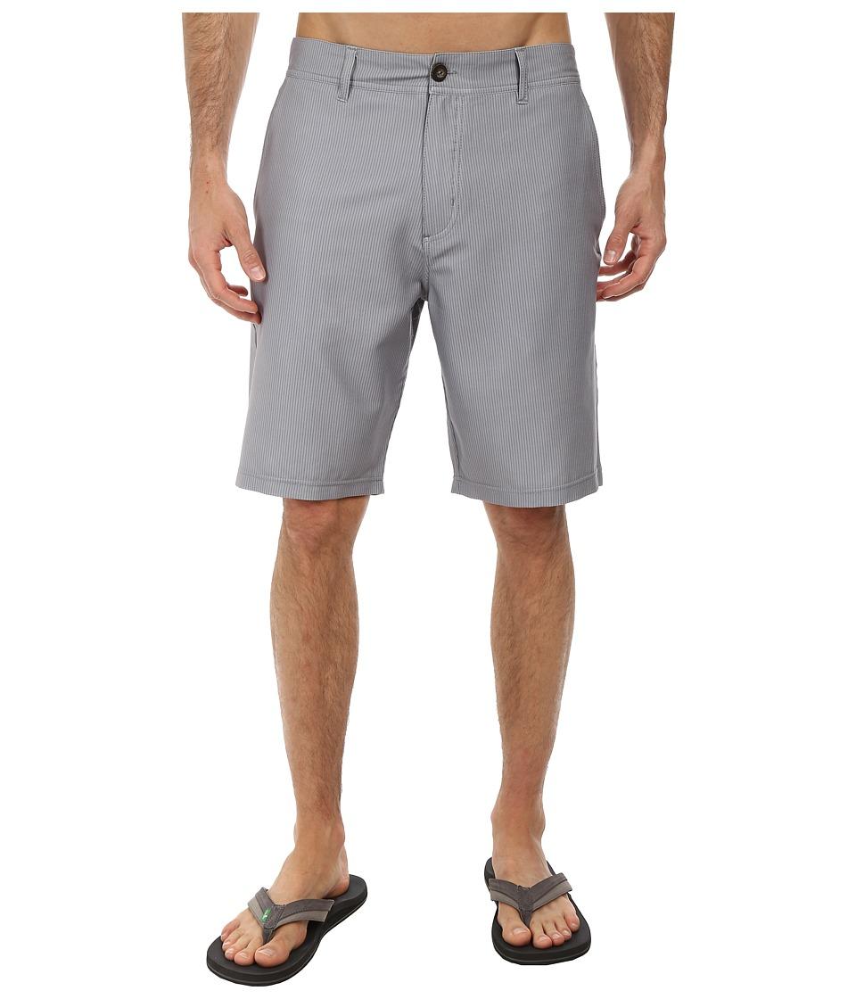 Jack O'Neill - Ridge Printed Boardshorts (Grey) Men's Swimwear