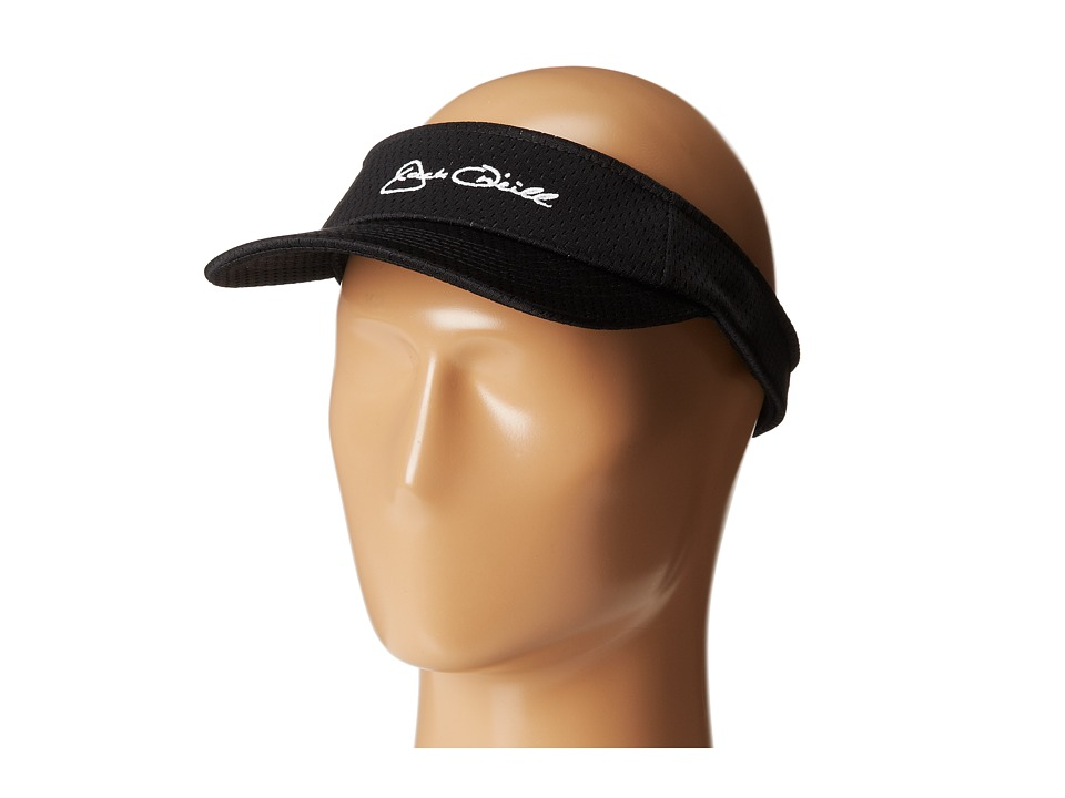 Jack O'Neill - Pebble Beach Baseball Caps (Black) Casual Visor