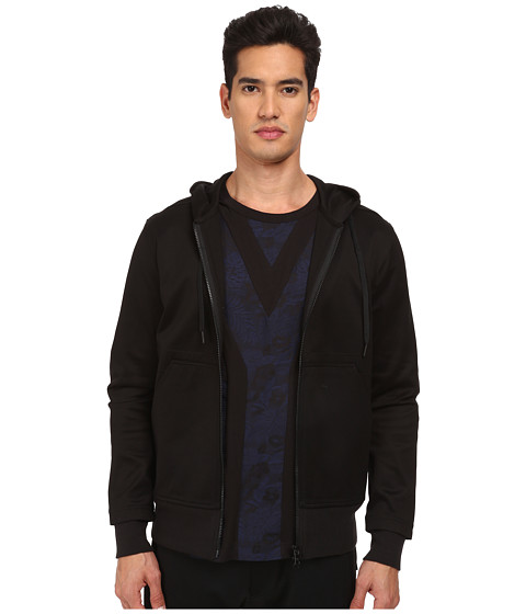 adidas Y-3 by Yohji Yamamoto - Lux Track Zip Top (Black) Men's Jacket