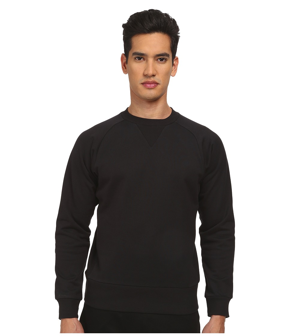 adidas Y-3 by Yohji Yamamoto - Classic Sweat Top (Black) Men's Sweatshirt