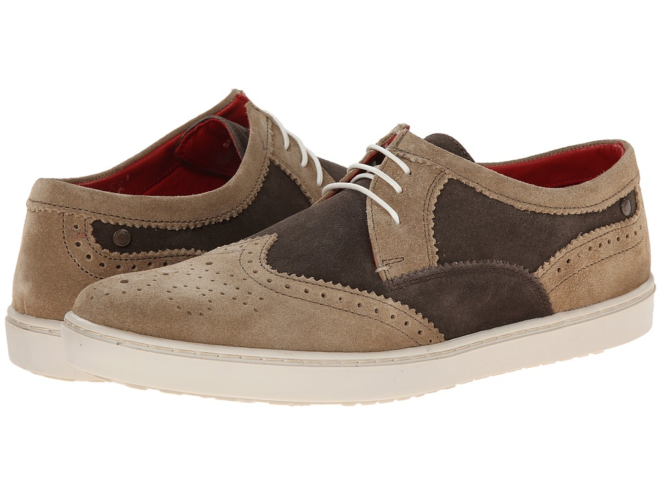 Image of Base London - Anglo (Taupe/Brown) Men's Shoes