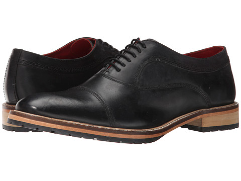 Base London - Girton (Black) Men's Shoes