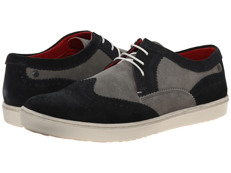 Base London - Anglo (Navy/Grey) Men's Shoes