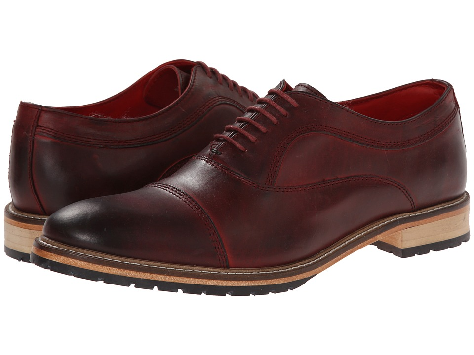 Base London - Girton (Bordo) Men's Shoes