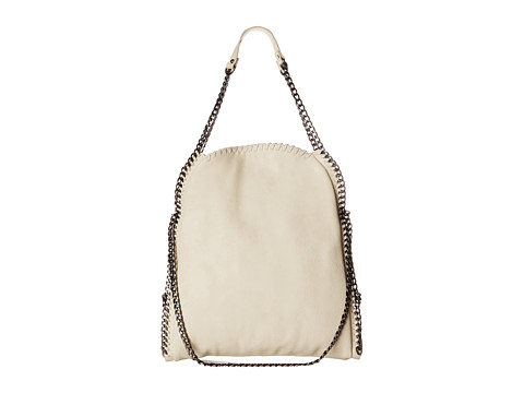 Steve Madden - Btotally North/South Tote (Cream) Tote Handbags