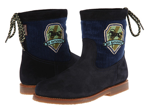Penelope Chilvers - Zuri Patch Boot (Navy) Women