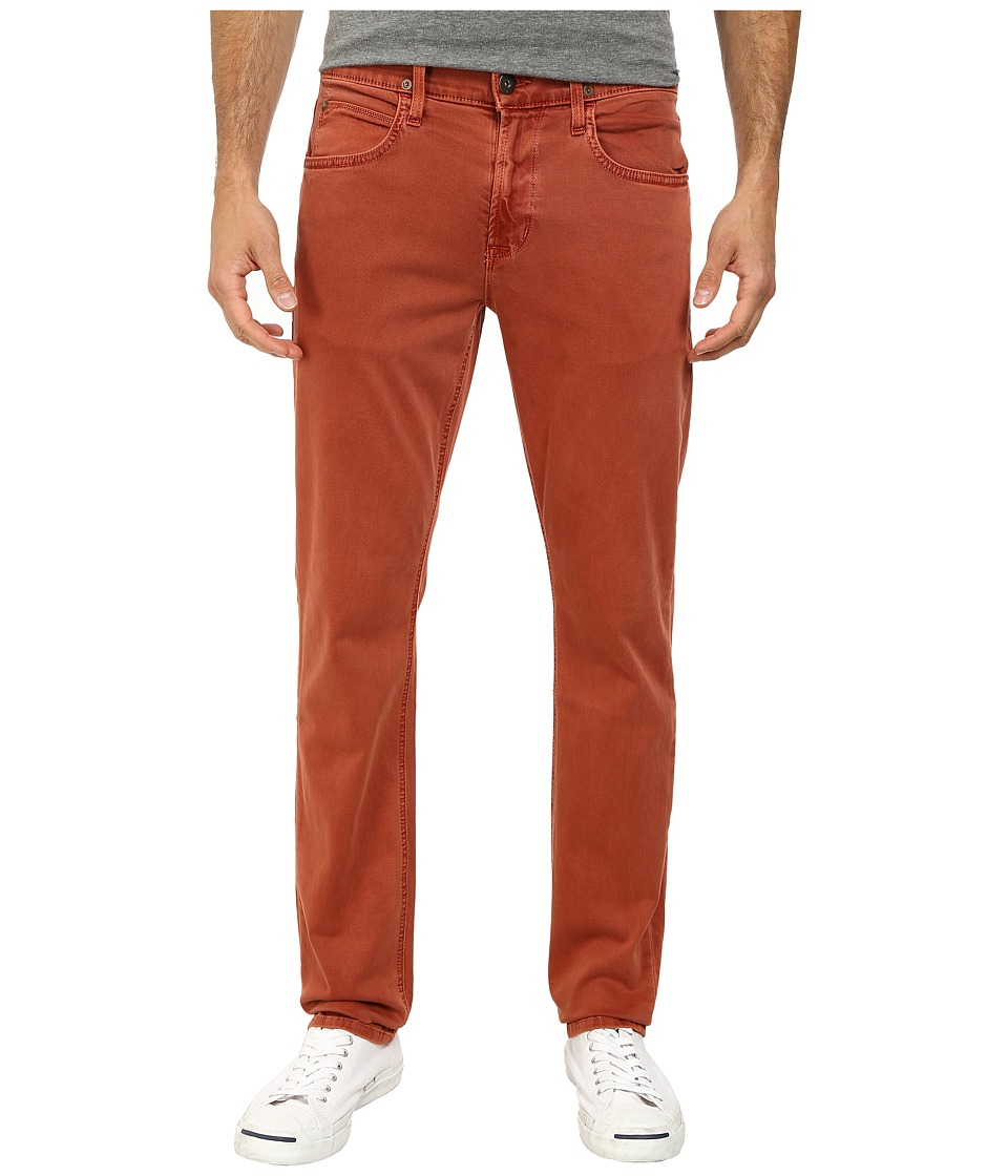 Hudson - Blake Slim Straight Zip Fly in Sunfaded Spice (Sunfaded Spice) Men