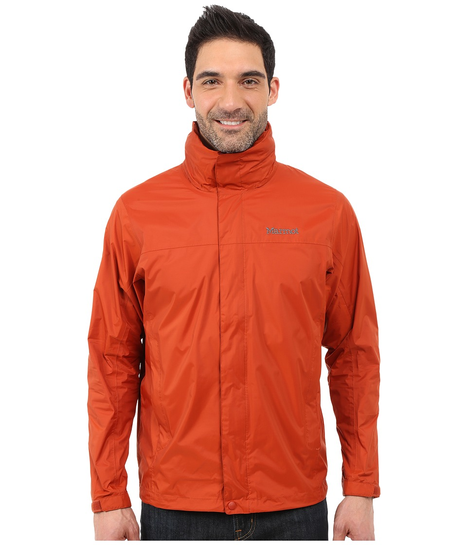 Marmot - PreCip Jacket (Dark Rust) Men's Coat