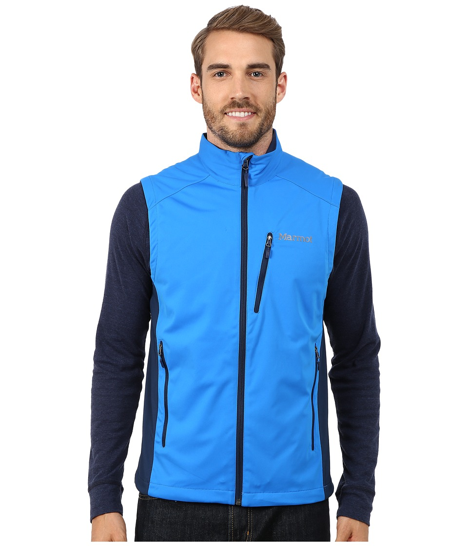 Marmot - Leadville Vest (Cobalt Blue/Dark Ink) Men's Vest