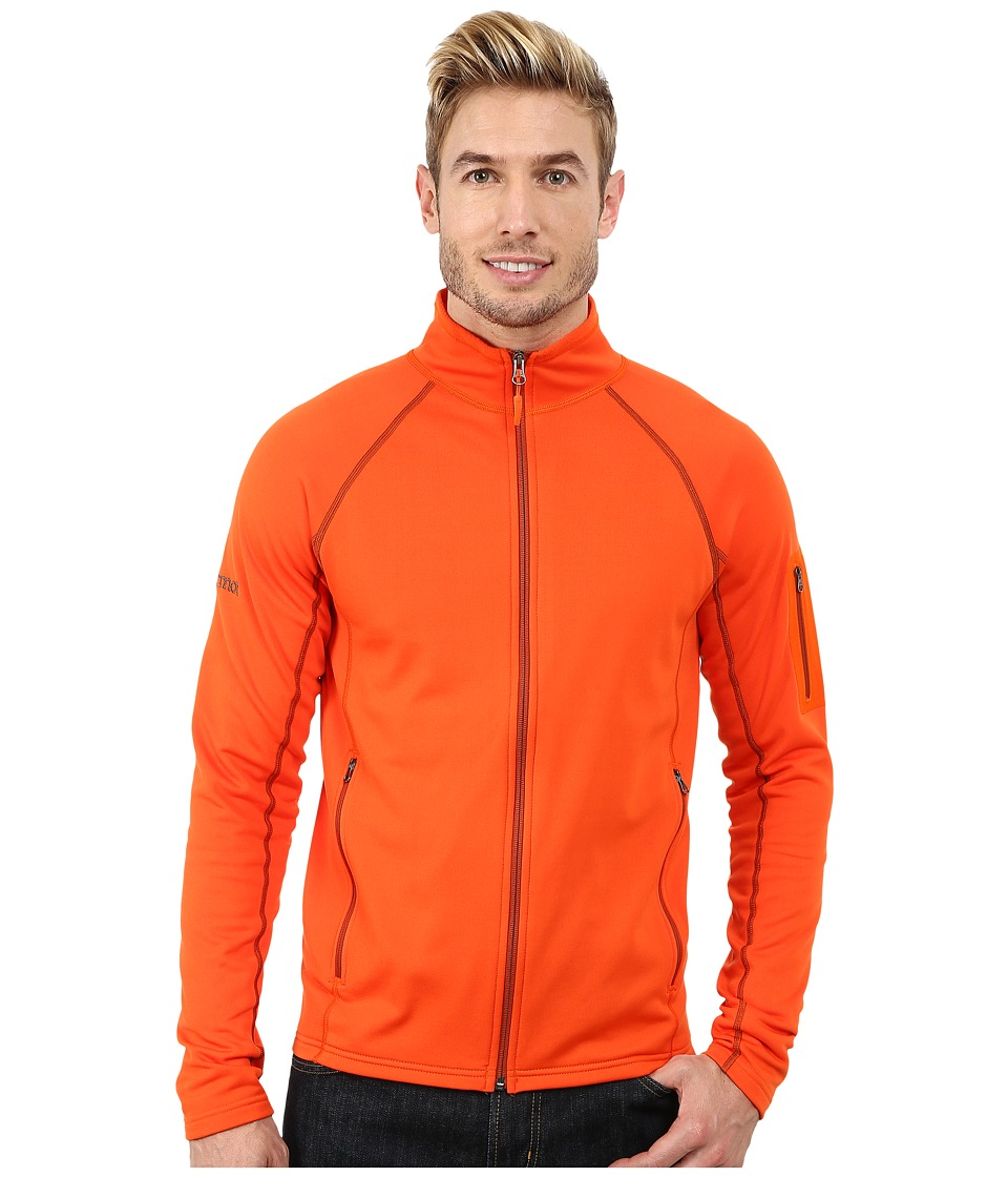 Marmot - Stretch Fleece Jacket (Sunset Orange) Men
