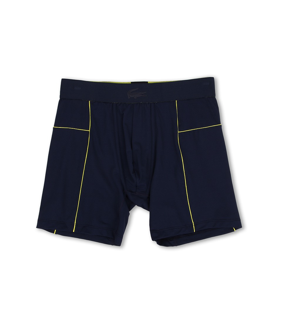 Lacoste - Motion Motion Boxer Brief (Marine Blue) Men's Underwear