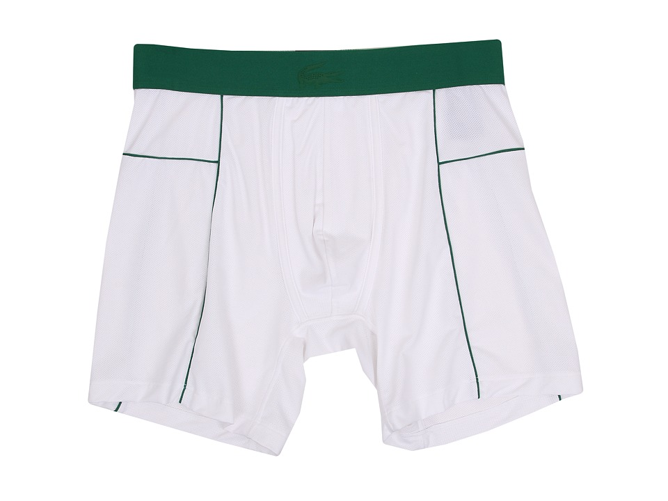 Lacoste - Motion Motion Boxer Brief (White) Men's Underwear