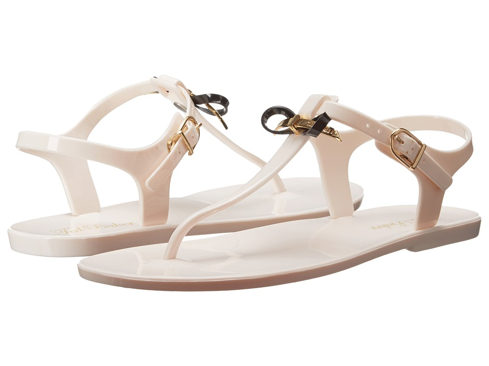 Ted Baker - Verona (Cream/Black PVC) Women's Sandals