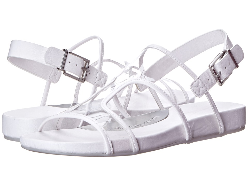 BCBGMAXAZRIA - Peters (Clear/White PVC Calf) Women