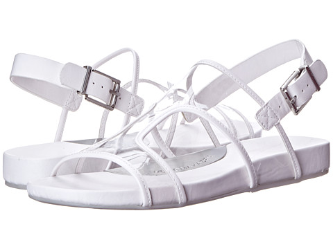 BCBGMAXAZRIA - Peters (Clear/White PVC Calf) Women's Sandals