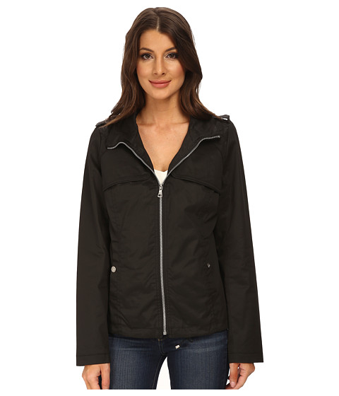 Sam Edelman - Cotton Bomber w/ Diamond Quilt Detail (Black) Women