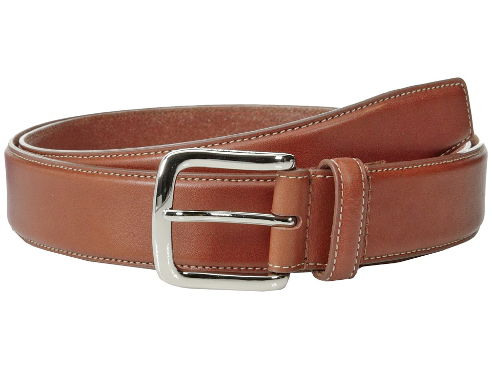 Cole Haan - 35mm Full Grain Veg Belt (Cognac) Men's Belts