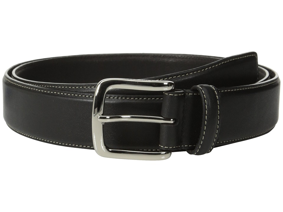 Cole Haan - 35mm Full Grain Veg Belt (Black) Men's Belts