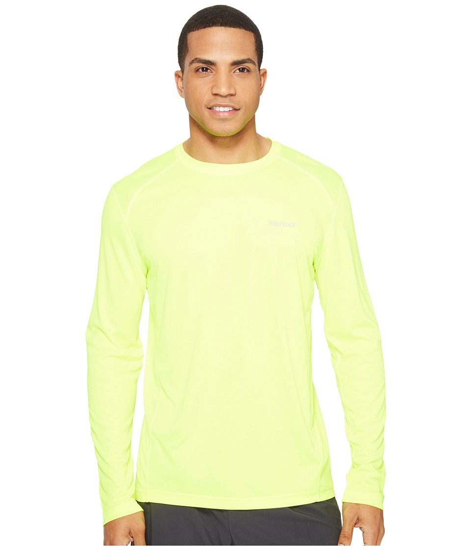 Marmot - Windridge L/S (Hyper Yellow) Men's T Shirt