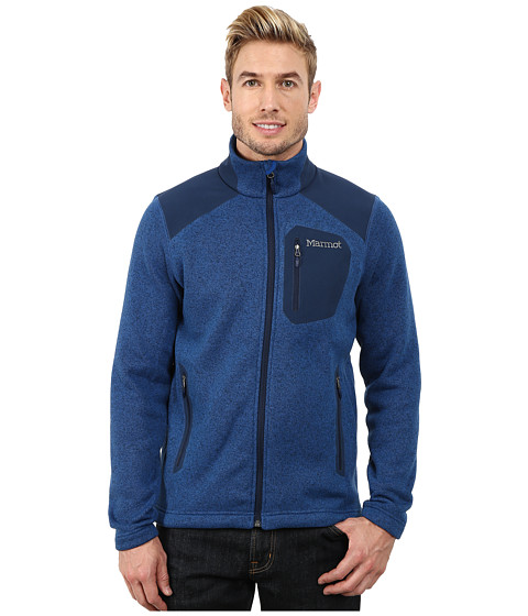 Marmot - Wrangell Jacket (Blue Night/Dark Ink) Men
