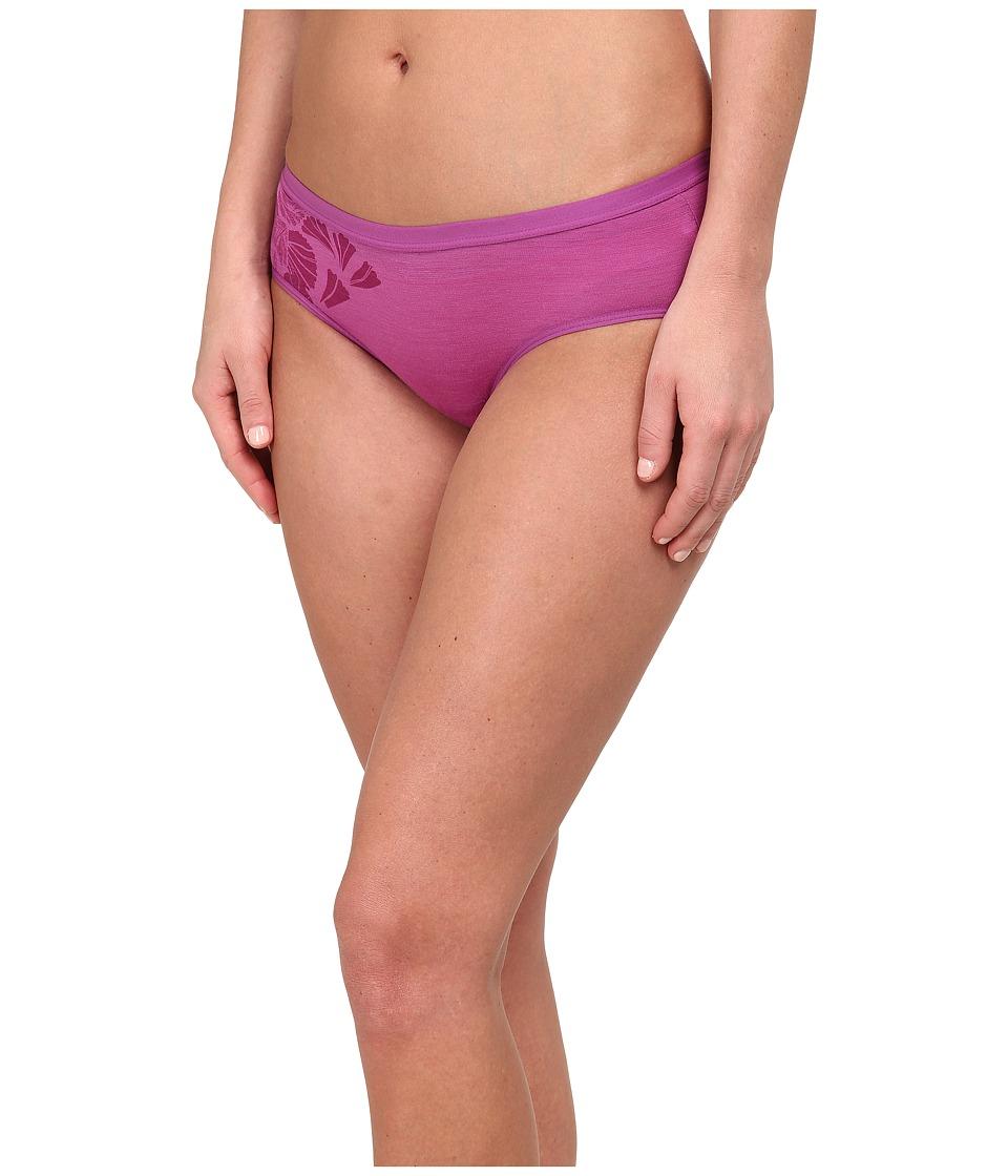 Icebreaker - Siren Hipkini Water Lily (Sweetpea) Women's Underwear