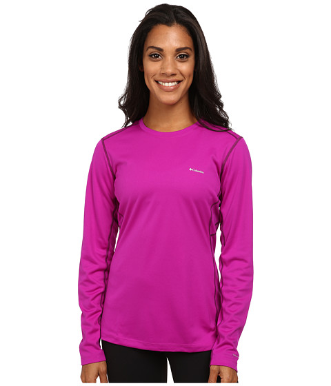 Columbia - Midweight II L/S Top (Bright Plum/Purple Dahlia) Women's Long Sleeve Pullover