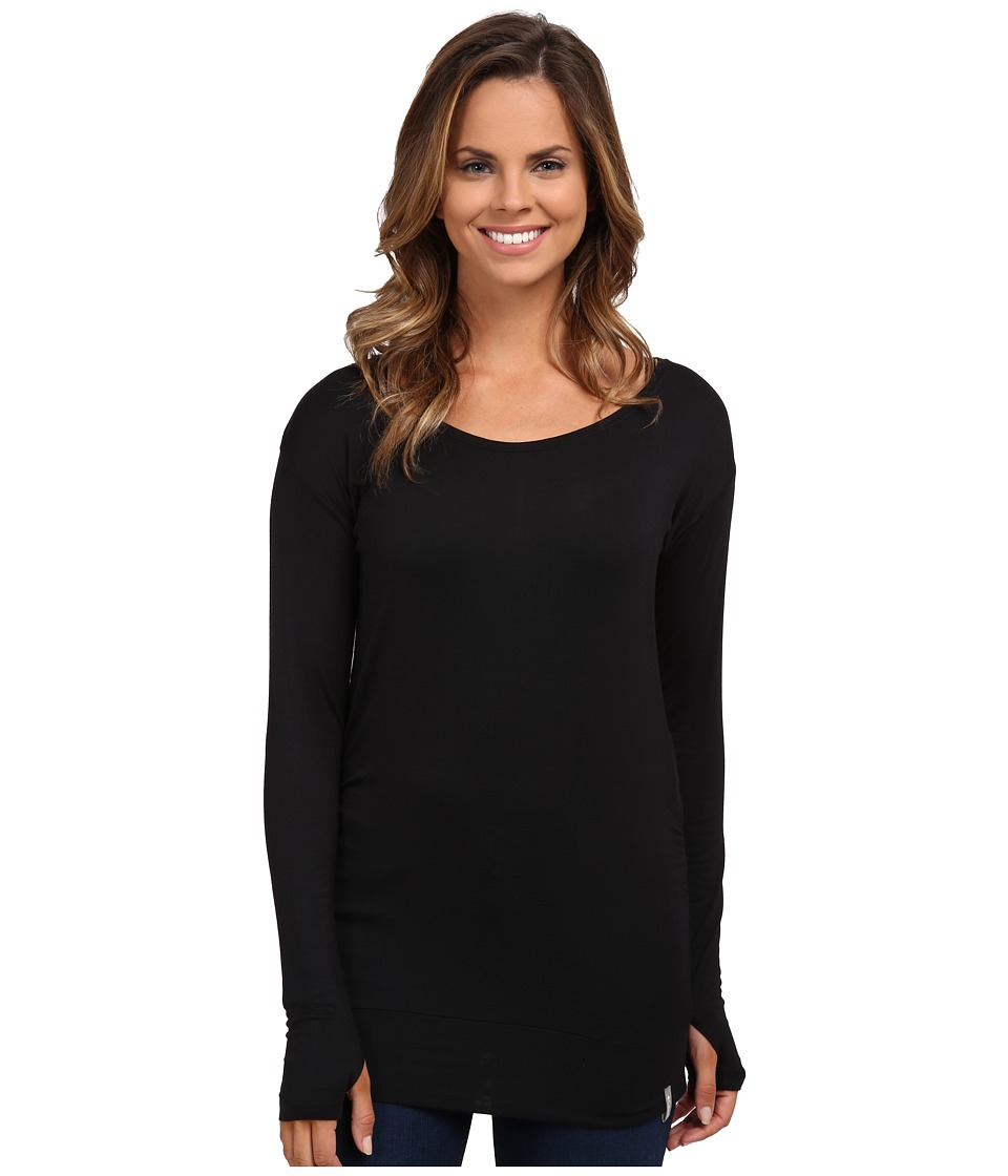 Columbia - Lumianation Long Sleeve Shirt (Black) Women's Long Sleeve Pullover