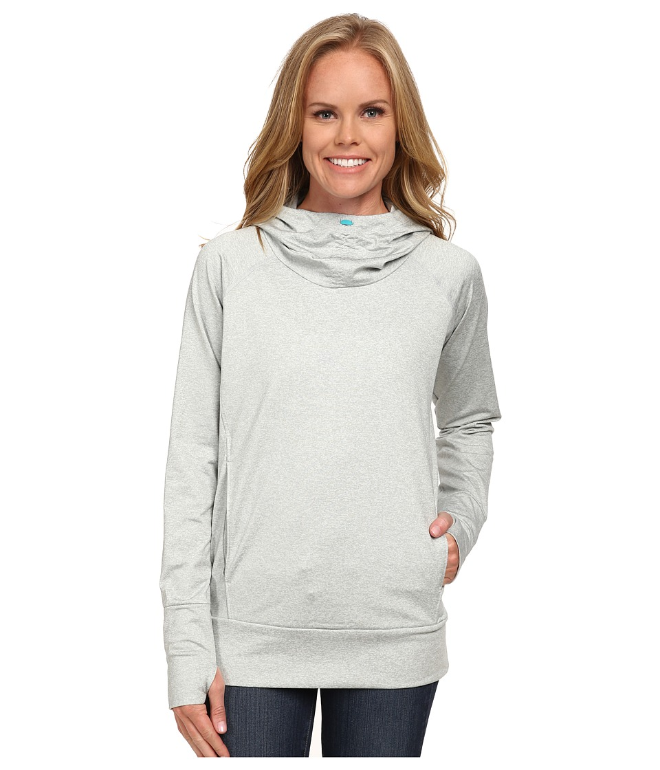Columbia - Brilliant Reflection Spacedyd Hoodie (White Spacedye) Women