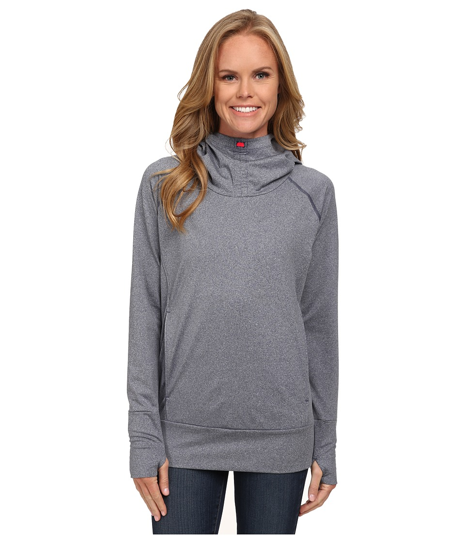 Columbia - Brilliant Reflection Spacedyd Hoodie (Notcurnal Heahter) Women's Sweatshirt