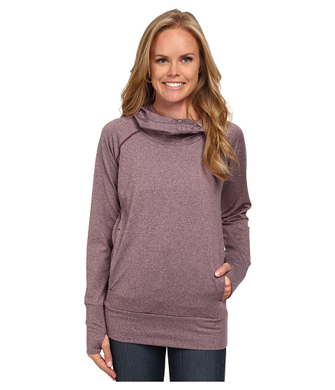 Columbia - Brilliant Reflection Spacedyd Hoodie (Purple Dahlia Heather) Women