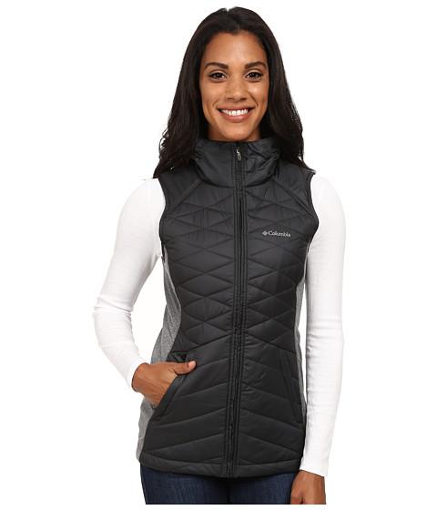 Columbia - Aurora's Glow Hybrid Vest (Black) Women's Vest