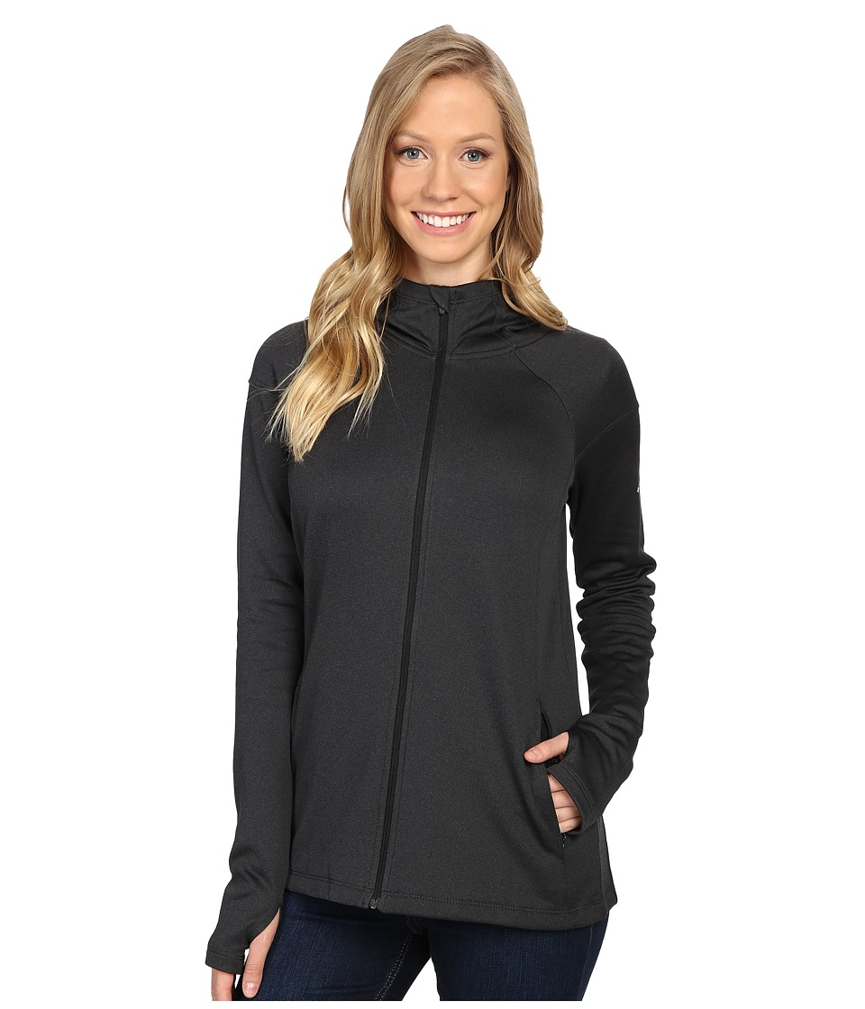 Columbia - Saturday Trail Hooded Jacket (Black Heather) Women's Coat
