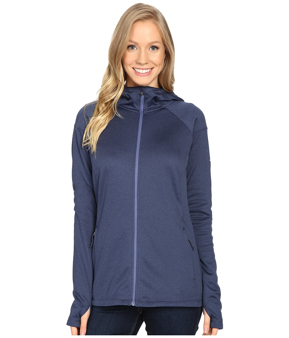 Columbia - Saturday Trail Hooded Jacket (Bluebell Heather) Women's Coat