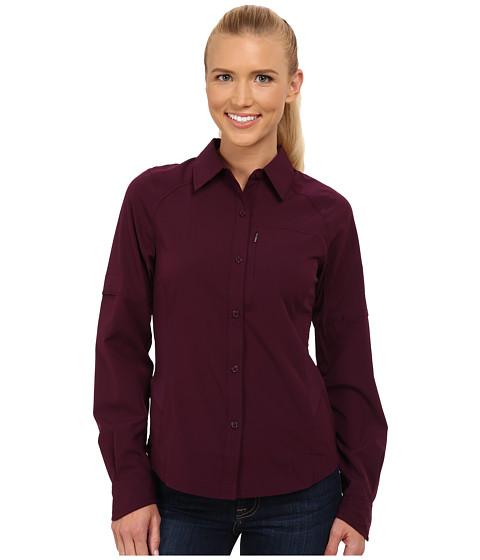 Columbia - Silver Ridge L/S Shirt (Purple Dahlia) Women's Long Sleeve Button Up