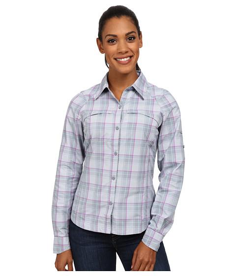 Columbia - Silver Ridge Plaid L/S (Tradewinds Grey/Plain Weave) Women