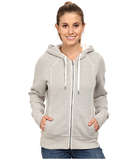 Columbia - Greater Pike and Pine Full Zip Hoodie (Sea Salt) Women