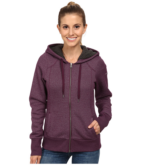 Columbia - Greater Pike and Pine Full Zip Hoodie (Purple Dahlia) Women's Sweatshirt