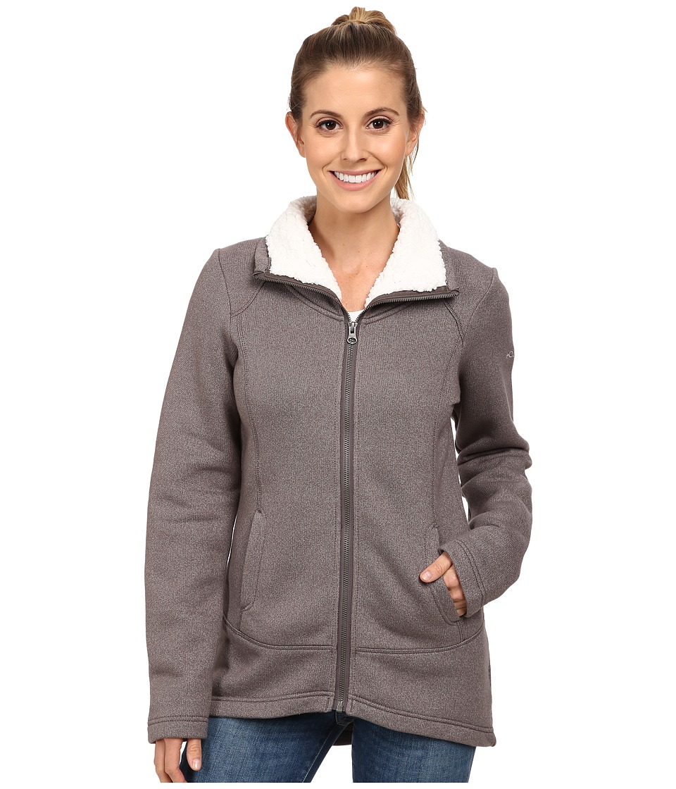 Columbia - Greater Pike and Pine Long Full Zip (Mineshaft) Women's Sweater