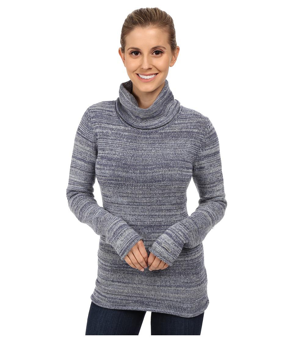 Columbia - Melange Meadows Turtleneck (Bluebell) Women's Long Sleeve Pullover