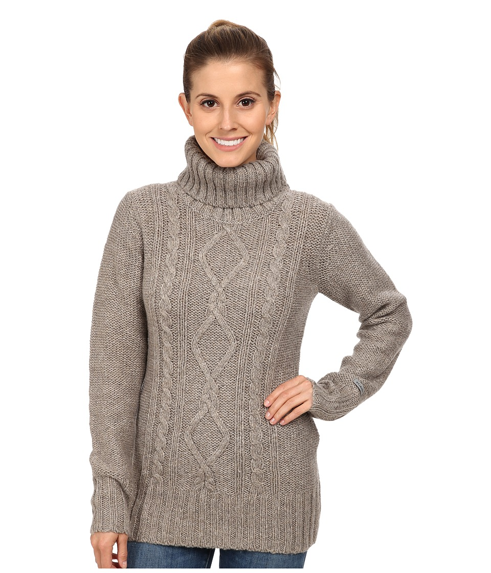 Columbia - Hideaway Haven Cabled Turtleneck (Kettle Heather) Women's Long Sleeve Pullover
