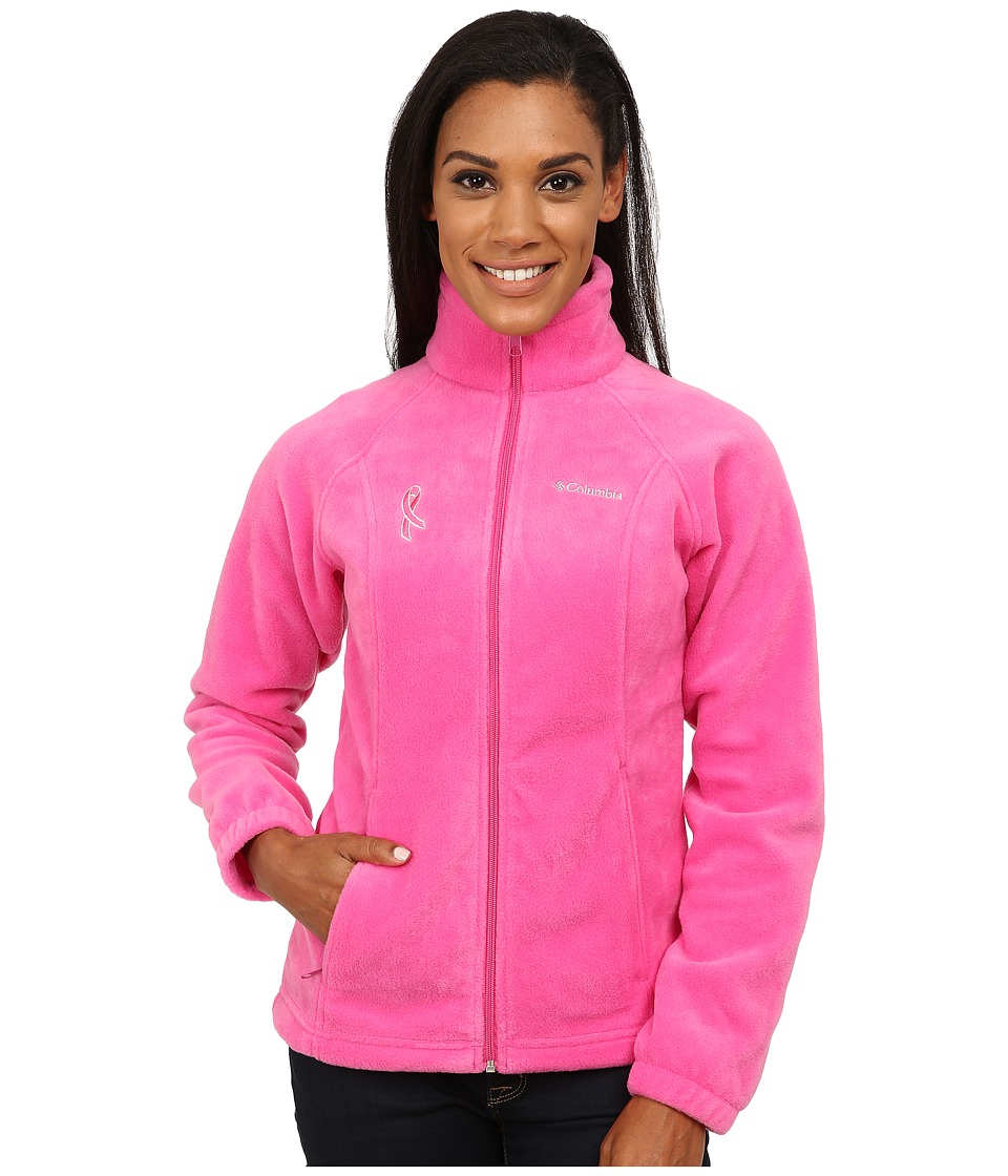 Columbia - Tested Tough In Pink Benton Springs Full Zip (Pink Ice) Women's Jacket