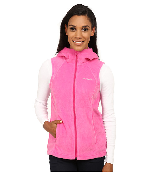 Columbia - Tested Tough in Pink Hooded Vest (Pink Ice) Women's Vest