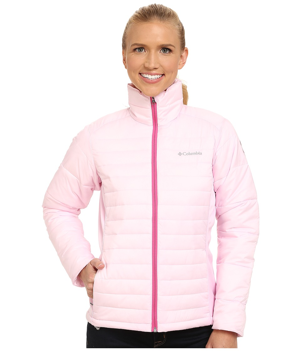 Columbia - Tested Tough in Pink Hybrid Jacket (Isla) Women's Coat